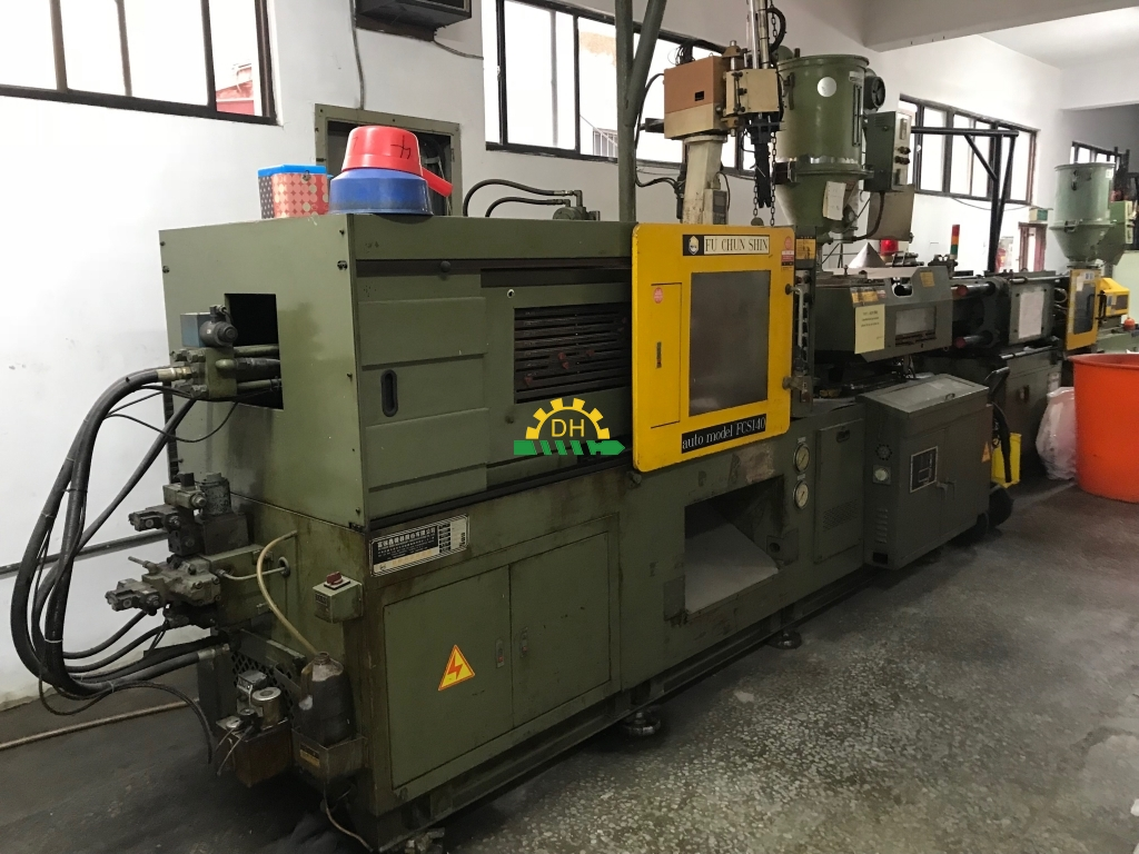 second hand plastic machine from Der-Hsin Dealer|used